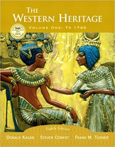 The Western Heritage Vol 1 To 1740 Eighth Edition