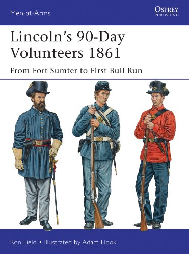 Lincoln?s 90-Day Volunteers 1861: From Fort Sumter to First Bull Run (Men-at-Arms)