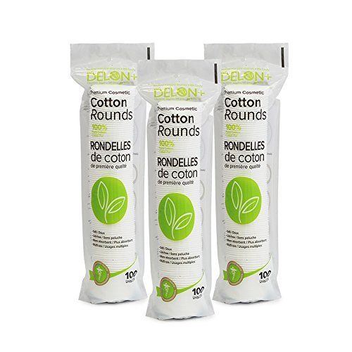 Delon 100% Cleansing Cotton Rounds (300) -