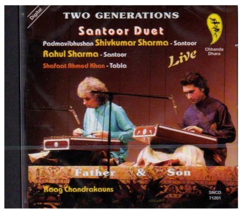 Two Generations: Santoor Duet by Chhanda Dhara