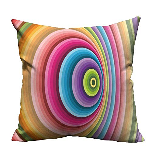 YouXianHome Decorative Throw Pillow Case Abstract Background Vector Can be Used for Wallpaper,Web Page Background,Web Banners Ideal Decoration(Double-Sided Printing) 24x24 inch -