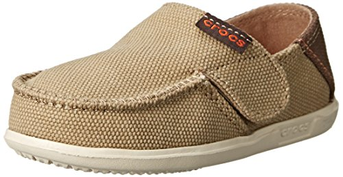 crocs Santa Cruz Loafer PS Loafer ,Khaki/Stucco,8 M US To