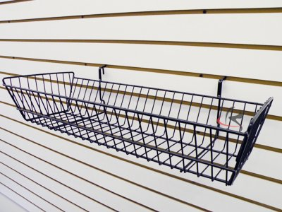 RK-BSK12B Slatwall Accessories basket /6 units