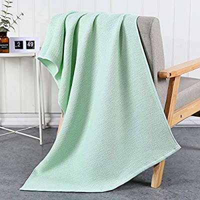 Adultsys Asciugamano da Bagno in Cotone Giapponese Antico Tessitura Panno Garza Asciugamano a Nido dApe Flessibile Assorbente L Lint Grande Asciugamano