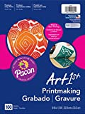 "Office Products : Pacon Printmaking Paper, White, 9""x12"", 100 Sheets"