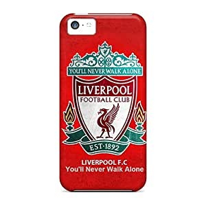 For ipod touch4 Incredible Liverpool Pattern High-definition cell phone New Snap-on case cover covers miao's Customization case