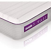 """The New Purple Mattress, California King Size, with Soft 3"""" Smart Comfort Grid Pad and Cooling Comfort-Stretch Cover"""
