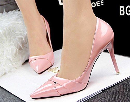 Heel Pumps No Town 66 Pink Stiletto Women's Dress High wq1gqXBx