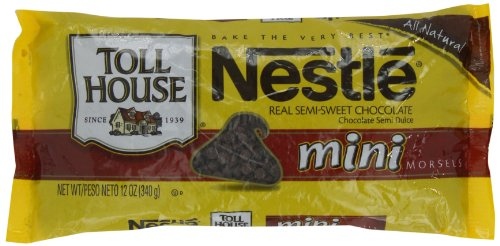 Nestle Toll House Mini Morsels, 12-Ounce (Pack of 6)