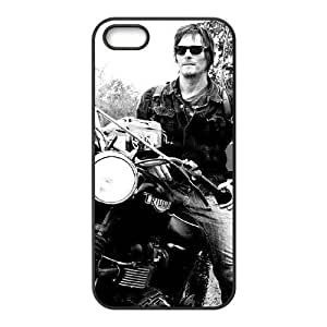 Cool Painting The Walking Dead Personalized Cover Case for Iphone 5,5S,customized phone case case322182