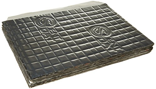 Silent Coat 10 x Tiles (187x265mm) Car Sound Deadening/Proofing Pack