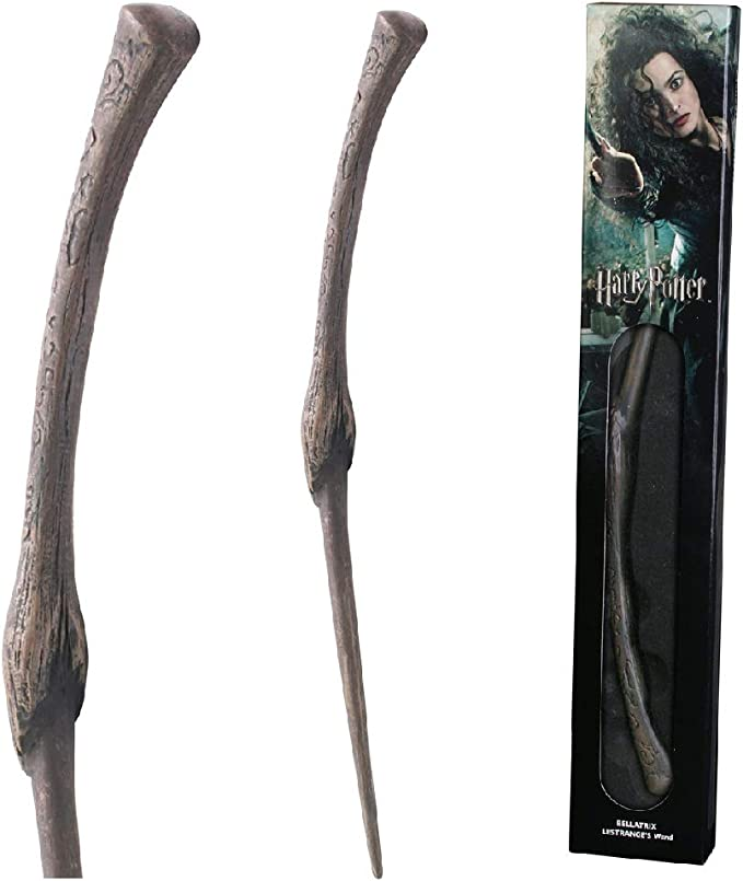 Harry Potter  Bacchetta Magica Bellatrix Lestrange  Character Noble Collection