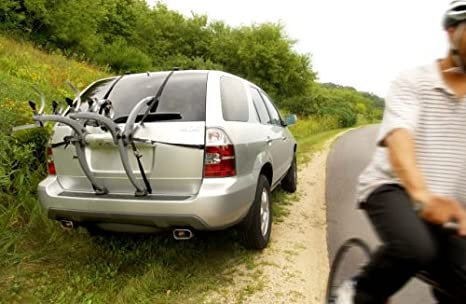 Saris Bones EX Mount 2 or 3 Bicycles and Super Bike Rack Trunk or Hitch Carrier
