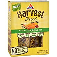 Atkins Harvest Trail Bar - Vanilla Fruit and Nut - 1.3 oz - 5 Count - 7g Net Carbs