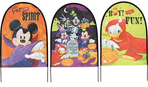 Disney Mickey & Friends Fabric Yard Signs Set]()