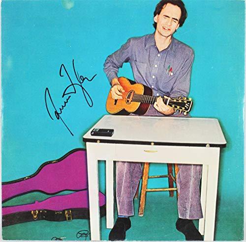 James Taylor Autographed Signed Flag Vinyl Album Sleeve Autographed Signed Bas #H63865 - Certified - Taylor Memorabilia James