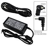 BE•SELL 19V 3.42A Adapter Charger for Acer Chromebook 11 13 14 15 CB3 CB3-111-C4HT CB5 CB5-571 CB5-311 C720 C720C 720p C740 CB3-111-C670 R11 Iconia W700 Tablet AO1-131/431 (NOT FOR C710) Power Supply