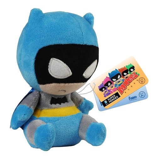 Batman 75th Anniversary Blue Rainbow Batman Mopeez Plush