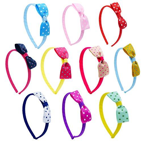 Toddler Grosgrain Ribbon Headband ColorBeBe product image