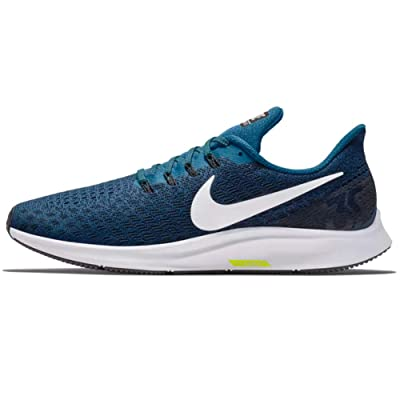 Nike Men's Air Zoom Pegasus 35 Running Shoe Blue Force/White-Black-Wolf Grey 6 Medium US | Road Running