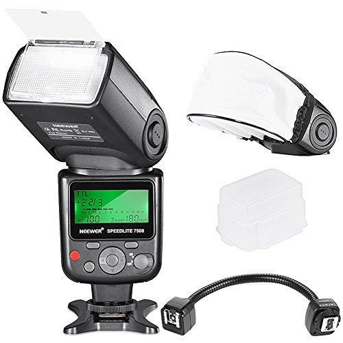 Neewer® VK750 II I-TTL LCD Speedlite Flash and Off-camera F