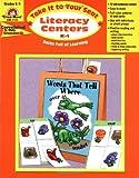 Literacy Centers, Grades K-1, Evan-Moor, 1557999295