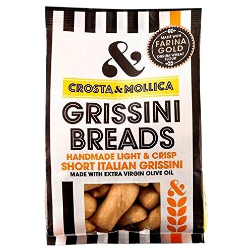 Crosta amp Mollica Mini Grissini Breadsticks 150g Pack of 2