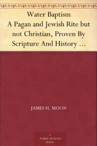 Amazon Water Baptism A Pagan And Jewish Rite But Not Christian