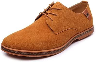 Men's Classic Microfibre Leather Oxford Shoes Lace up