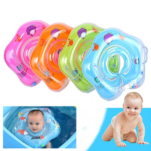 Infant Newborn Scooter - ShopSquare64 IPRee Inflatable Baby Infant Swimming Neck Float Ring Newborn Bath Pool Beach Circle