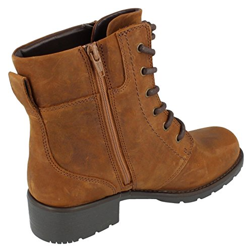 Spice Boots UK Warmlined US Brown Size 8W 5 Size EU Ladies Size Orinoco 39 5E Leather Clarks Ankle R8IEww
