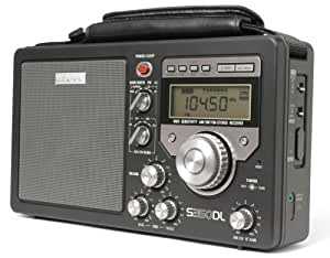 eton s350dl am fm shortwave deluxe radio receiver black discontinued by. Black Bedroom Furniture Sets. Home Design Ideas
