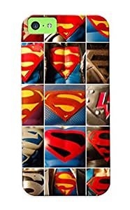 Awesome Design Superman V Hulk Family Ic Vine Hard Case Cover For Iphone 5c