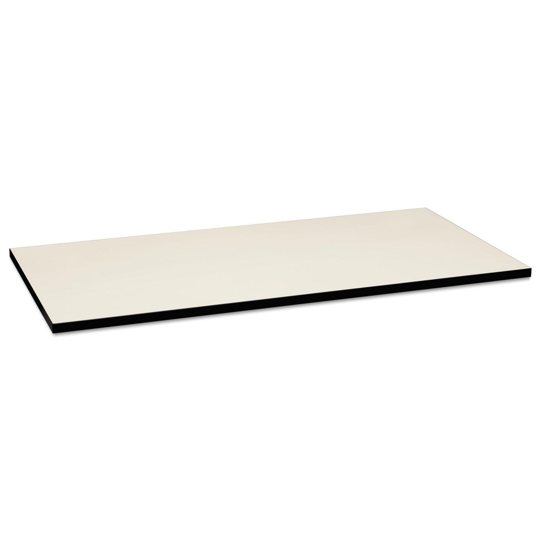 HON HONMT3060GNB9P Huddle Table Top, 60'', Silver Mesh/Black