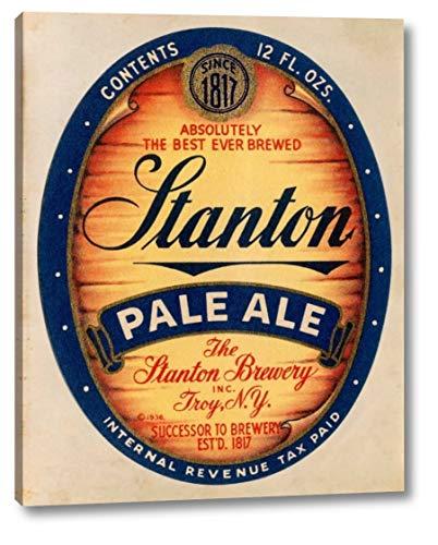 Stanton Pale Ale Beer by Vintage Booze Labels - 18