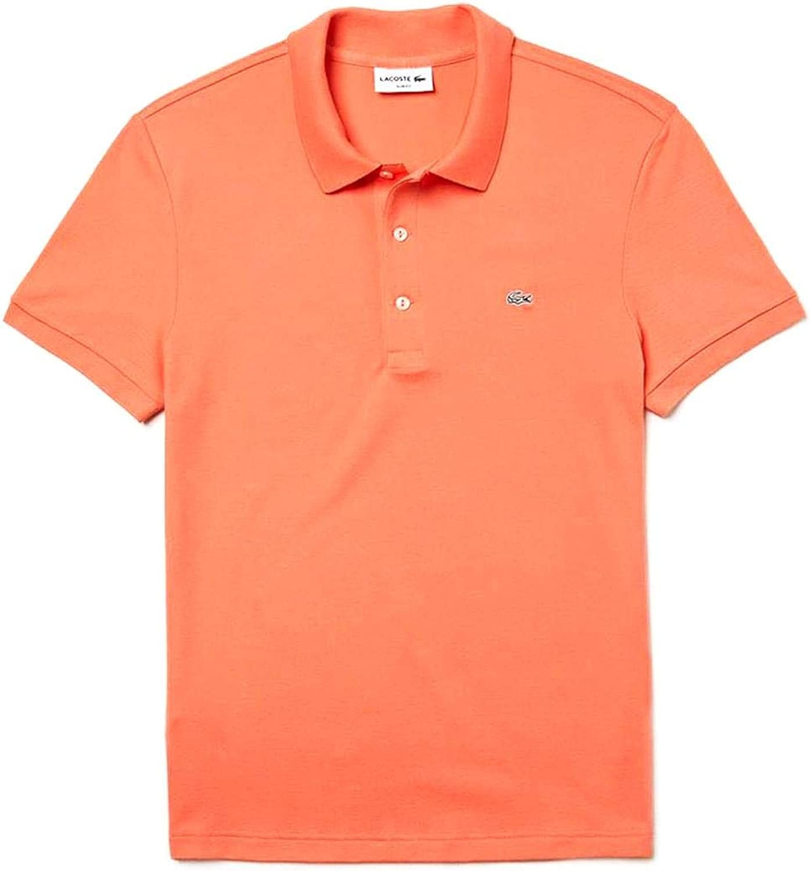 Lacoste Polo Slim Fit Naranja Hombre 2 Naranja: Amazon.es: Ropa y ...