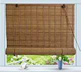 Bamboo Roll Up Window Blind Sun Shade W72' x H72'