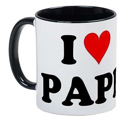 93a6ff339290 Amazon.com  CafePress - I Love Papi Mug - Unique Coffee Mug
