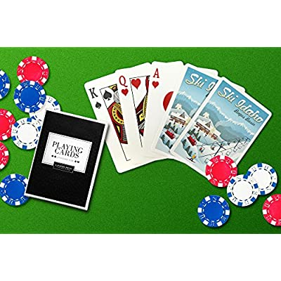 Bogus Basin, Idaho - Retro Ski Resort (Playing Card Deck - 52 Card Poker Size with Jokers): Everything Else
