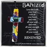 The Grandparent Gift Handmade Mosaic Baptism Cross - Best Reviews Guide