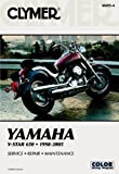 Clymer Yamaha V-Star 650, 1998-2005, James Grooms, 0892879610