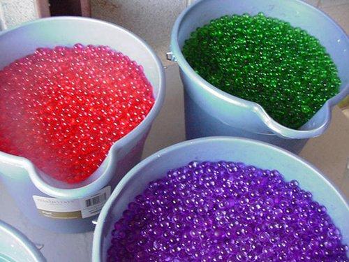 12 Packs Water Beads Store & Release Soil Gel Crystal Jelly ()