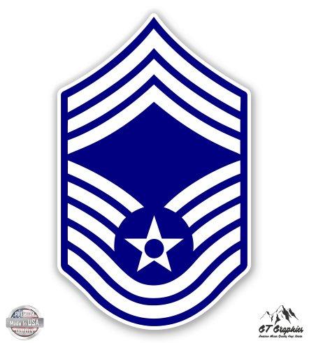 US Air Force E9a Chief Master Sergeant Rank - 5