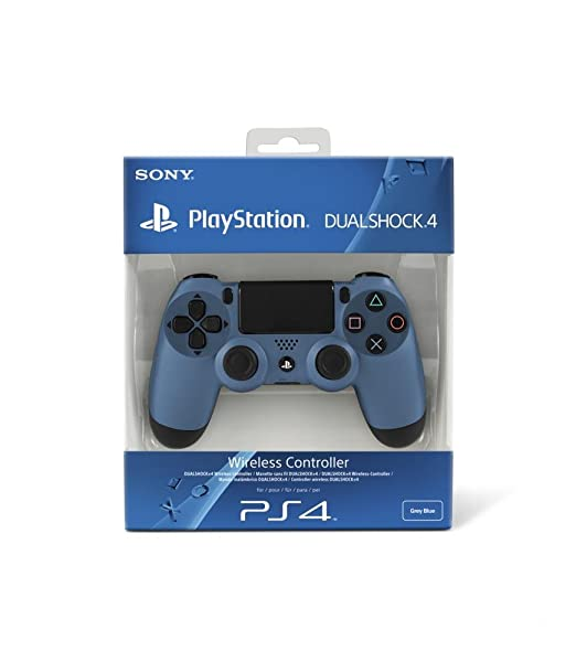 1498 opinioni per PlayStation 4- Controller Dualshock 4 Wireless Grey Blue- Special Limited-