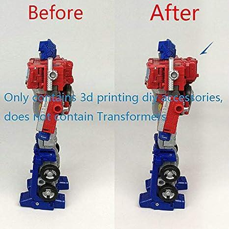 DIY FOR earthrise Optimus Prime Parts 3D upgrade DIY KIT bag armor Red US