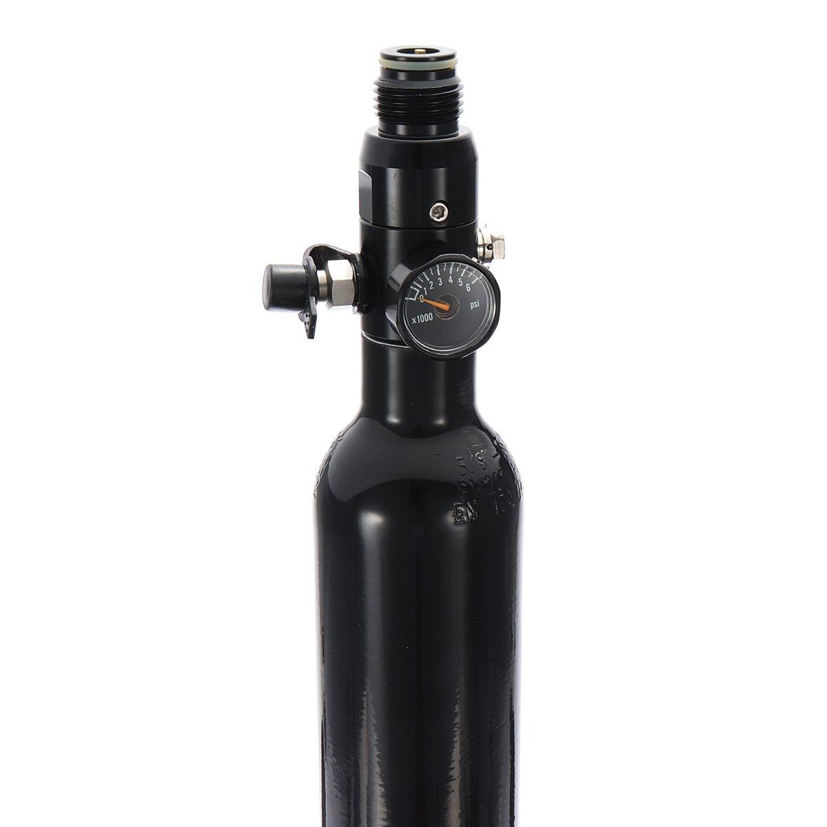 Amazon.com: 0.38L Liter Aluminum Tank Air Bottle With 4500 PSI Regulator For Paintball PCP: Home Improvement