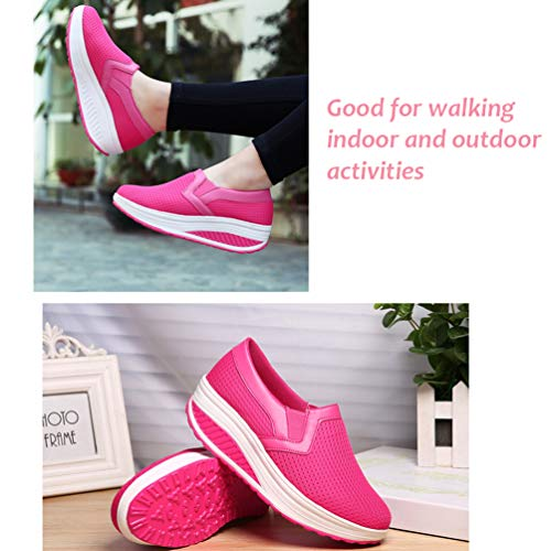 Indoor Basse Donna Fitness Rosa Scarpe Sneakers Outdoor Multisport Scuro IxPwqfptd