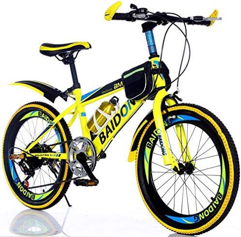 YAOXI Bicicleta De Montaña con Suspensión Amortiguación Horquilla ...