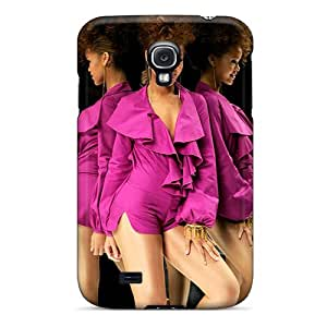 JonBradica Samsung Galaxy S4 Shock Absorption Hard Phone Cases Support Personal Customs Attractive Rihanna Pictures [UBB18225jKGa]