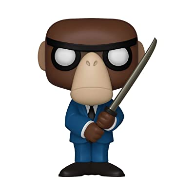 Funko Fantastik Plastik - Monkey Assassin Pop Limited Edition Vinyl Figurine #19: Toys & Games